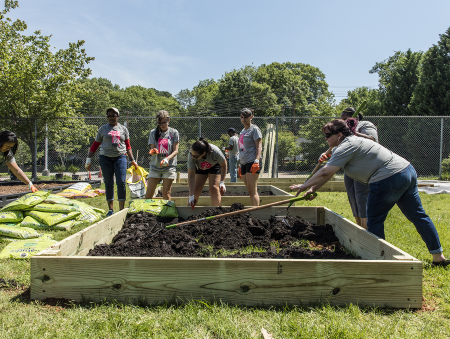 The Cal Ripken, Sr. Foundation Teamed Up with EcoMediaCBS and Do Good. Live Well. to Revitalize a Community Garden in Charlotte, North Carolina