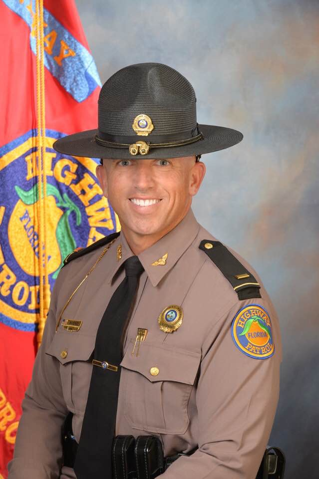 Lt. Greg Bueno of the Florida Highway Patrol