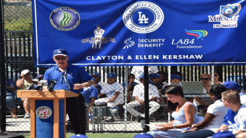 Universally Accessible Dodgers Dreamfield at Baldwin Hills Recreation Center