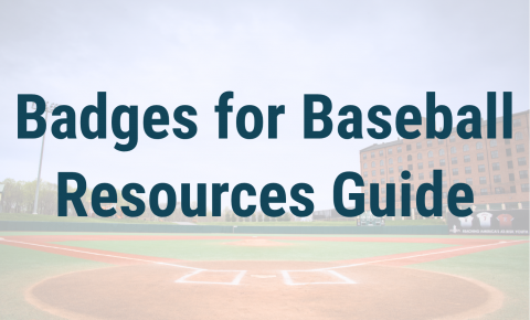 Badges for Baseball Resources Guide Header