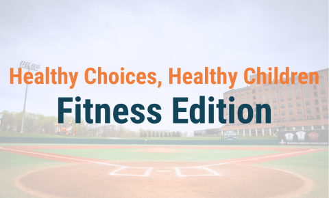 Healthy Choices, Healthy Children - Fitness Edition Header