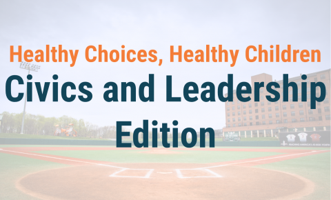 Healthy Choices, Healthy Children - Civics and Leadership Edition Header