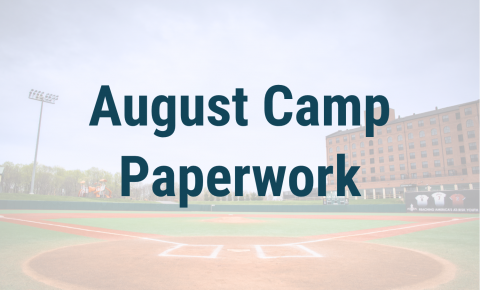 August Camp Paperwork Header
