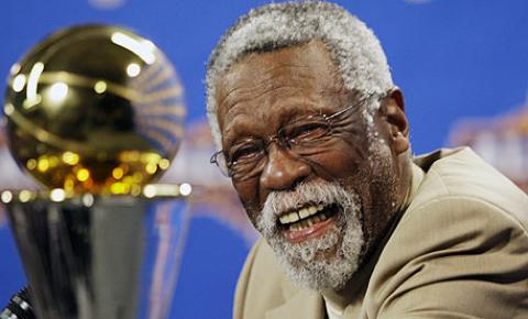 NBA Basketbal Coach Bill Russell