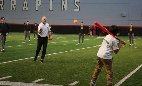 Ripken Foundation Partners with League of Dreams and Terps Baseball to Host Adaptive Clinic