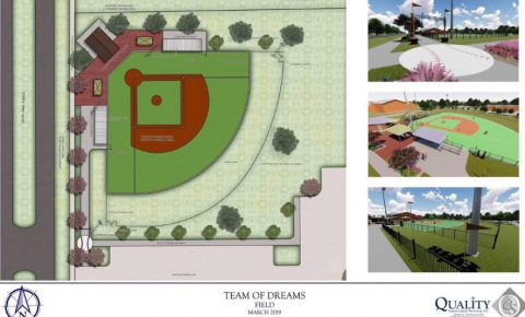Adaptive Field Concept Design in Gonzales, LA