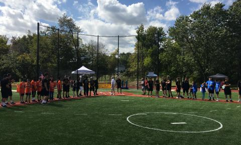 Beep Baseball Tournament with Maryland School for the Blind